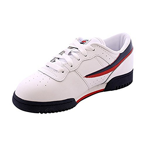 Original Fitness Sneaker - Fila Kid's Original Fitness Sneakers White/Fila Navy/Fila Red 7