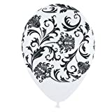 Damask Pearl White Latex Balloons, Health Care Stuffs