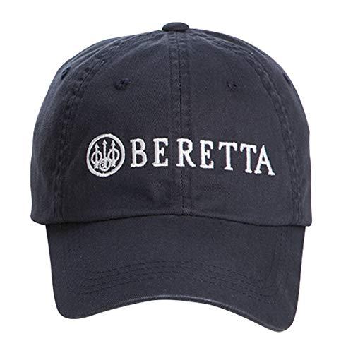 Beretta Mens Cotton Twill Hat, Navy