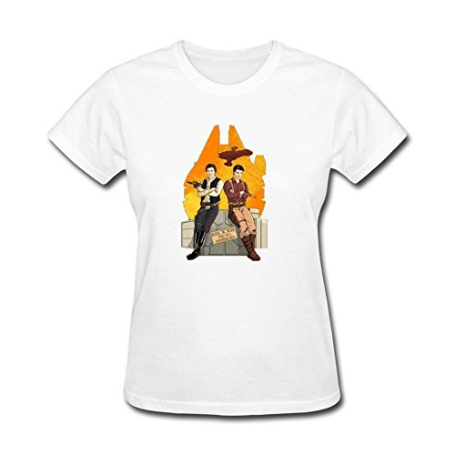 Women's Firefly Star Wars Mashups Nathan Fillion Tops Short Sleeve T-Shirt (La Shops Alexandria Flower)