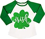 Boutique Clothing Girls St Patrick's Day Irish Raglan T-Shirt Fashion Top 2T/S