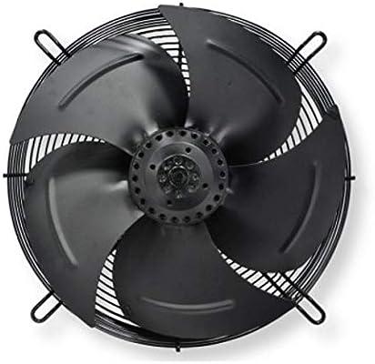 Ventilador axial para tuberías, 350 mm, 2500 m3/h, rejilla de ventilación: Amazon.es: Bricolaje y herramientas