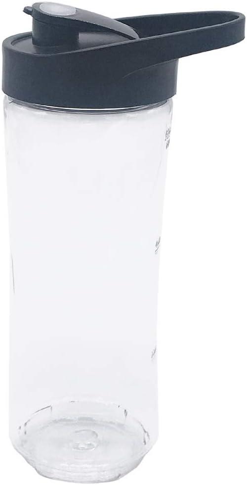 1 pieza de repuesto de botella deportiva brillante de 20 oz con tapa para los modelos de licuadora Oster MyBlend BLSTPB y licuadora BLSTP2: Amazon.es: Hogar