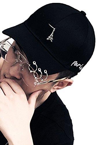 店主ストリップ感染するHeaven Days(ヘブンデイズ) キャップ 野球帽 帽子 紫外線カット スポーツ 無地 アクセサリー 男女兼用 1807K0370