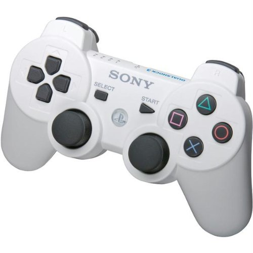 - Dual Shock 3 Controller for Playstation 3 PS3 Classic White, 99013