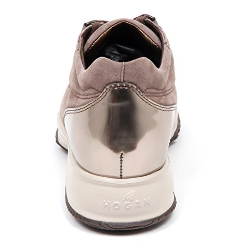 Woman Shoe Taupe Interactive Clay E4430 Donna cucitura H Hogan Scarpe Sneaker UAR4qxwf