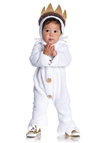 Leg Avenue Baby's Where The Wild Things Are Max Costume, Cream, 12-18 Months