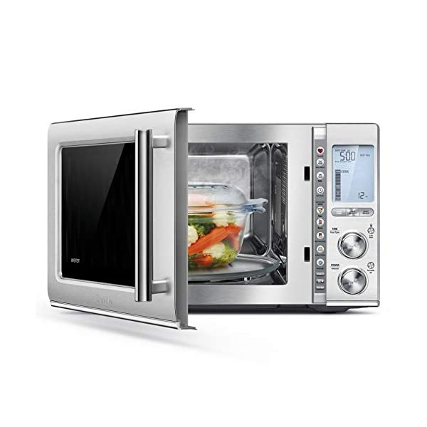 Breville BMO850BSS Smooth Wave Countertop Microwave Oven, Brushed Stainless Steel 2