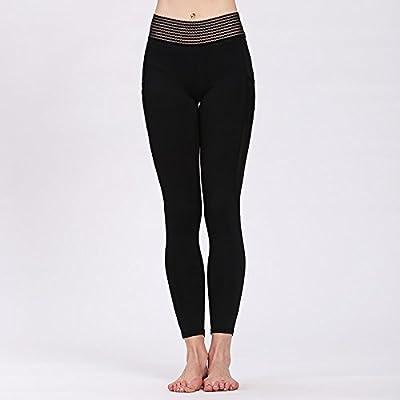 Erica Pantalon de yoga pour femmes Fitness Fitness Running Pilates Gym Pantalon d'entraînement Slim Jambières élastiques épissés