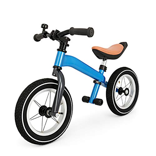 WeeLion Balance Bike Boys and Girls, No Pedals to Adjust The Handlebar and Seat Balance Bike (Suitable for Children from 2 to 6 Years Old),Blue
