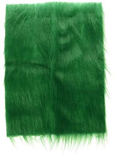 Darice 10240-60 Long Pile Fur, Green