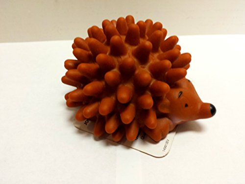 Coastal Pet Products Rascals Vinyl Squeaky Chew Hedgehog Dog Toy 3.5