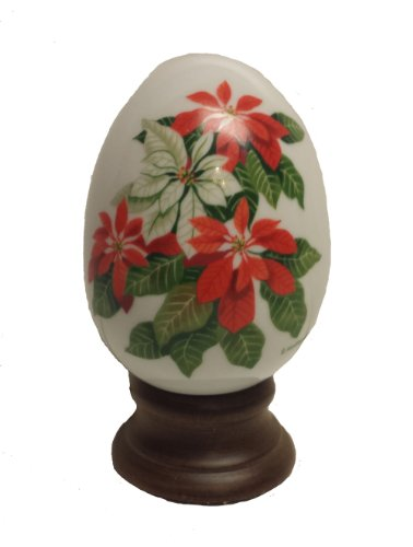 Avon Porcelain Egg - Avon Porcelain Egg Collection Winter's Treasure