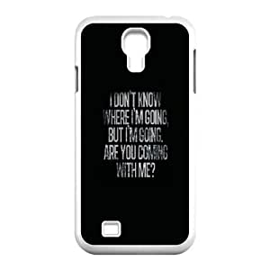 Samsung Galaxy S4 9500 Cell Phone Case White life quotes funny23444 F5L4TY