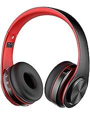 Alitoo Cuffie Bluetooth Wireless,Stereo Senza fili Pieghevole Over Ear Headphone con Microfono Cancellazione del rumore per PC, Tablet, Android,MP3 (Black&Green)
