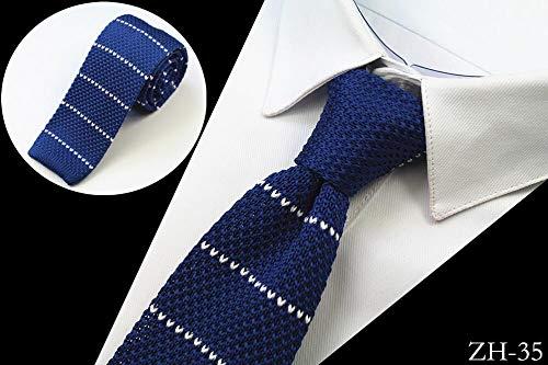 LLZGPZLD Corbata/Moda para Hombre De Punto Corbatas De Los Hombres ...