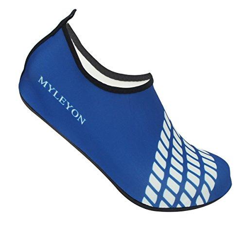 Water Schoenen Op Blote Voeten Huid Sokken Sneldrogend Aqua Strand Zwemmen Water Sport Vakantie Blauw