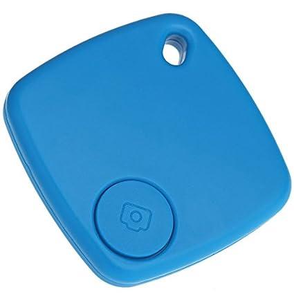 TOOGOO(R) Bluetooth 4.0 Alarma Anti-perdida Llavero Localizador Anti-omision Rastreador Inteligente y Remote Camera Shutter 2 en 1 para el iPhone 4S 5 ...