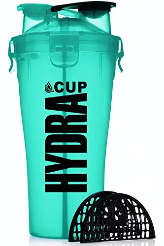 Hydra Cup - Dual Threat, Shaker Bottle, 28 Ounce Shaker Cup, Made in USA (1 bottle, Shaker Cup)