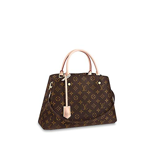 6c3e4d15ca3a Louis Vuitton Monogram Canvas Graceful MM Beige Article M43704 Made ...