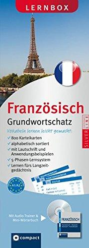 Französisch Grundwortschatz Compact Lernbox: 800 Vokabel-Karteikarten, MP3-CD & Mini-Wörterbuch Französisch. Mit 5-Phasen-Lernsystem. Niveau A1 / A2