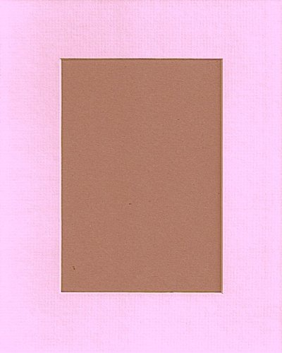 Pack of 10 11x14 Baby Pink Picture Mats, with White Core Bevel Cut for 8x10 Pictures