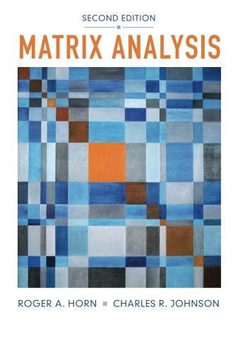 Books : Matrix Analysis