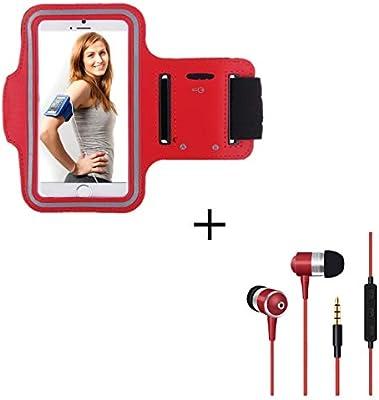 Pack Deportivo para Motorola Moto E6 Plus Smartphone (Brazalete ...