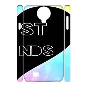 Customized 3D SamSung Galaxy S4 I9500 Case, Friends quote Cheap Phone Case