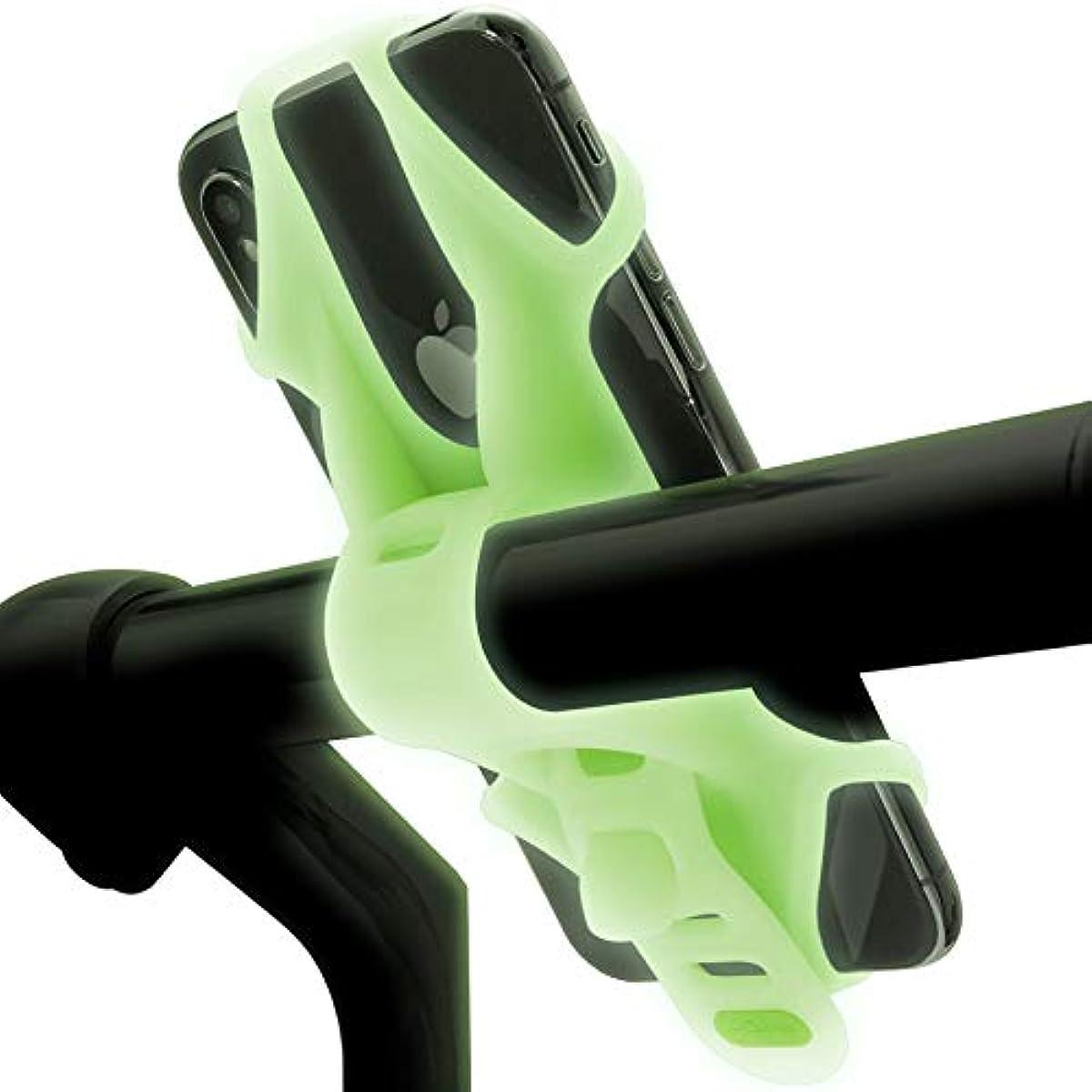 [해외] Bone Bike Tie 2 자전거 스마트 폰 홀더 전체 실리콘 초경량 탈착 쉽게 탈락 방지 4-6.5 인치
