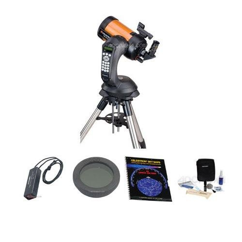 Celestron NexStar 5 SE Schmidt-Cassegrain Telescope, Special Edition - with Accessory Kit (Night Vision Flash Light, Sky Maps, Moon Filter, Optical Cleaning Kit) by Celestron