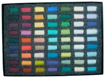 Unison Soft Pastels : Heather Harman Set of 63 Half Pastels