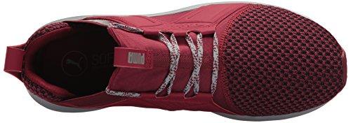 Puma Mens Enzo Terrein Sneaker Tibetaanse Rode Steengroeve
