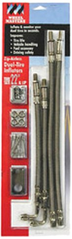 Wheel Masters 80012 Airless Stainless Steel Hub Mount - 4 Hose Kit for 16''- 19.5'' Wheels