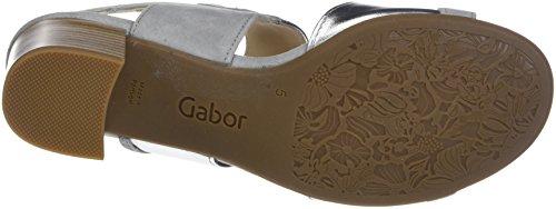 Gabor Dames Comfortabele Manier Sandaaltjes Grijs (lichtgrijs)