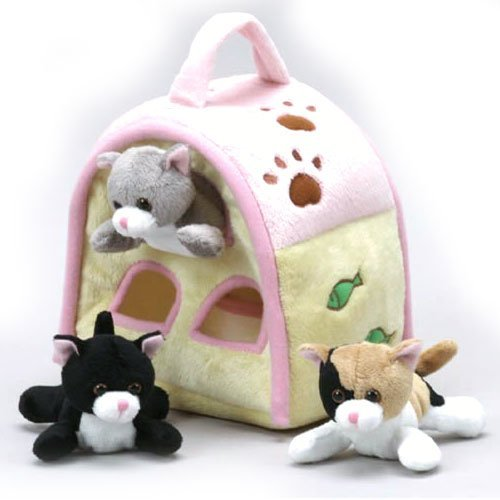 - Cat Finger Puppet Play House 8