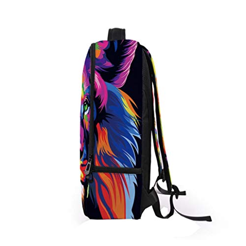Kanpola Bag Galaxy Multicolour3 Travel School Women 3D Bookbag Multicolour Backpack Satchel Men Rucksack Shoulder qrgHqwT