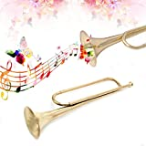 MEXUD Retro B Flat Bugle Trumpet School Band Cavalry Beginner Military Orchestra Music