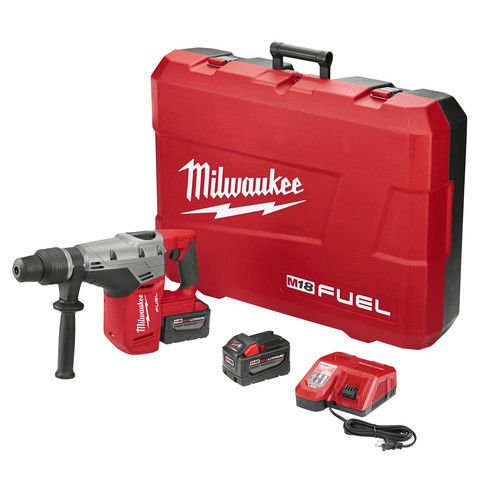 Milwaukee Tool 2717-22HD Rotary Cordless SDS Max Hammer Drill Kit 1-9/16 Inch 18.75 Inch M18TM FuelTM SDS Max by Milwaukee (Image #3)