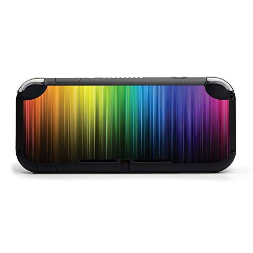 MightySkins Skin Compatible with Nintendo Switch Lite - Rainbow Streaks | Protective, Durable, and Unique Vinyl Decal Wrap Cover | Easy to Apply, Remove, and Change Styles | Made In The USA