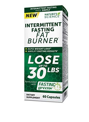 Nature's Science Intermittent Fasting Fat Burner, 60ct