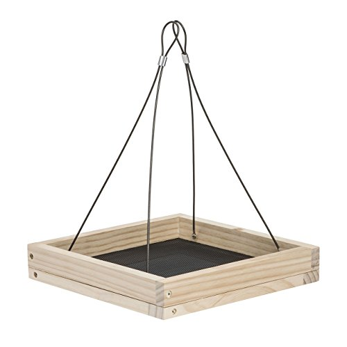Perky-Pet 50178 Hanging Tray Bird Feeder ()