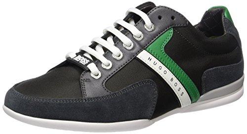 BOSS Green Spacit 10167195 01, Zapatillas Hombre Gris (Dark Grey 26)