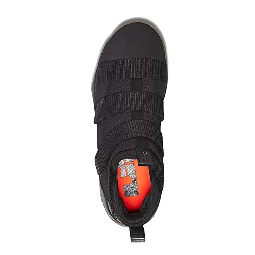 Nike scarpe da basket LEBRON XI SOLIDER Black/Black-gum Light Brown