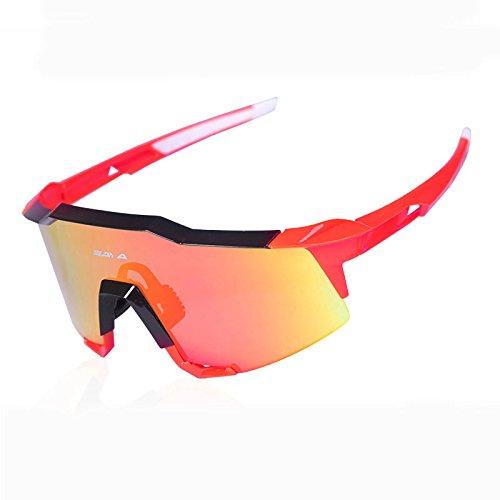Zenicham Unisex Polarized Sports Sunglasses Windbreak UV400 Protection Lenses for Men Women Outdoor Running Driving Fishing Ski Golf - Youth Reviews Baseball Sunglasses