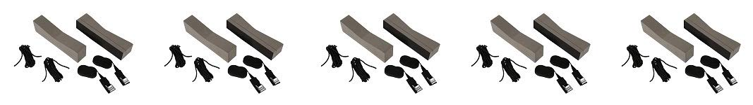 attwood 11438-7 Universal Rack-Free Car-Top Kayak Carrier Kit with Supporting Foam Blocks (5-(Pack)) by attwood