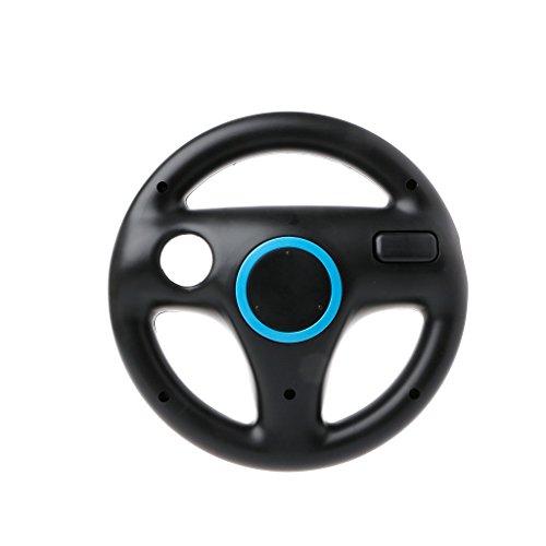 Yuly Newest Steering Wheel Controller Handle Holder Grip Kart Racing Game For Nintendo Wii