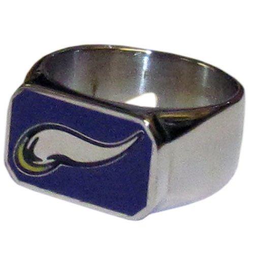 NFL Minnesota Vikings Steel Bottle Opener, Ring Size 10 (Ring Minnesota Vikings)