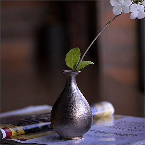 Amazon.com: Jarrón de cerámica Xiaotian con diseño de flor ...