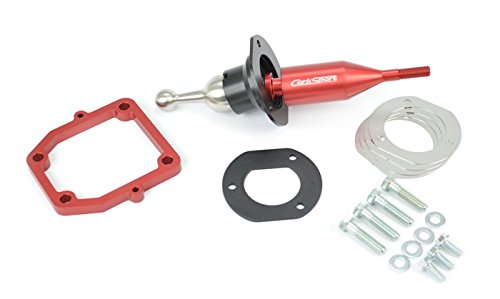 CORKSPORT 2016 + Mazda MX-5 Miata - Aluminum Short Shifter - Red (NDM-6-963-10)